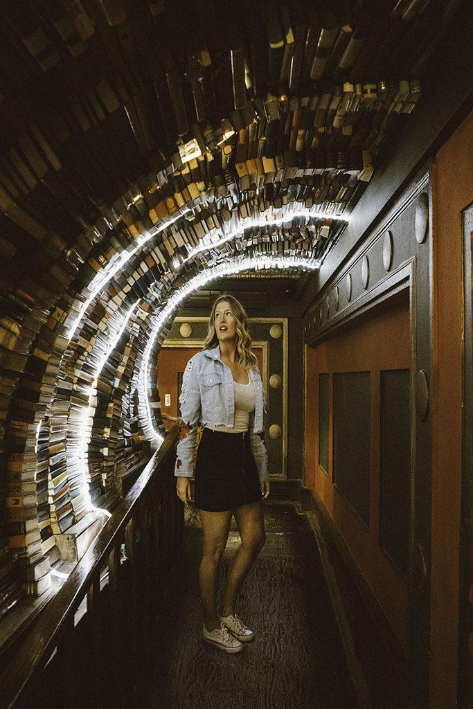 Downtown LA The Last Bookstore - Best LA Instagram Locations