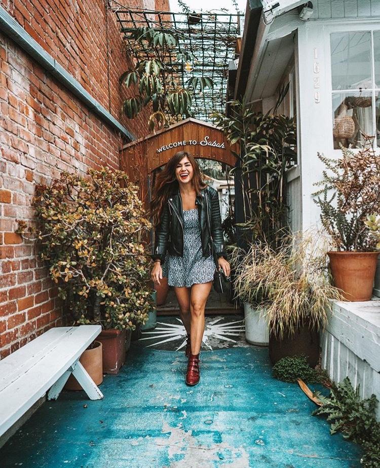 Abbot Kinney Boulevard Sabah House - Best LA Instagram Locations