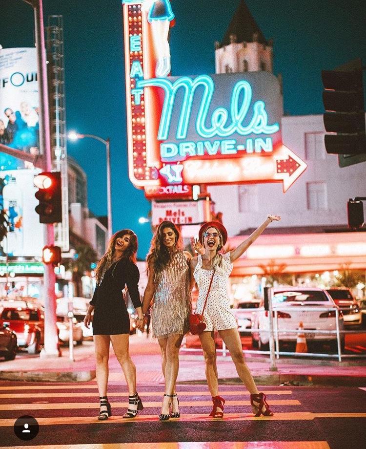Mel's Drive-In Diner - Best LA Instagram Locations
