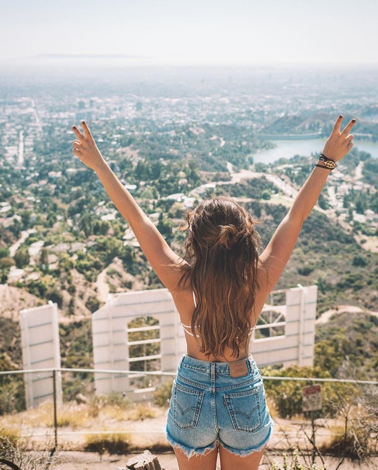 LA Hollywood Sign Best LA Instagram Locations