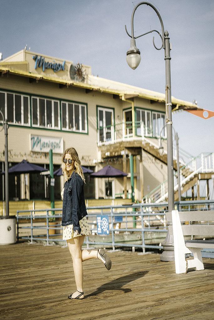 Mariasol Santa Monica Pier - LA Best Instagram Locations