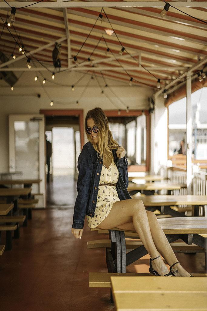 Pier Burger Santa Monica Pier - LA Best Instagram Locations