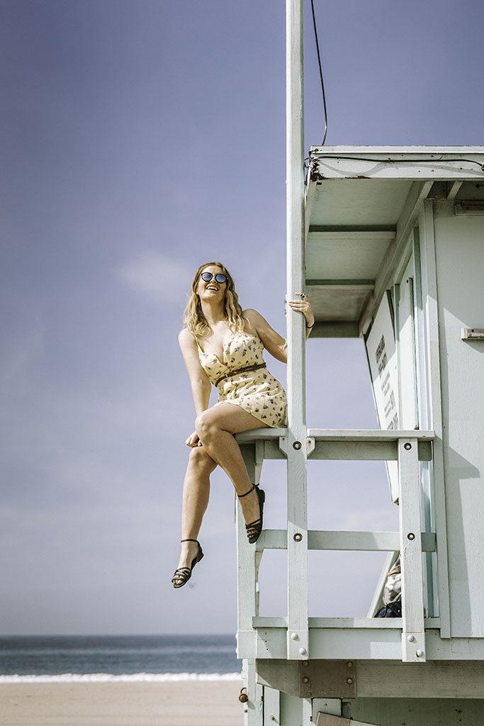 Santa Monica Lifeguard Tower - LA Instagram Locations