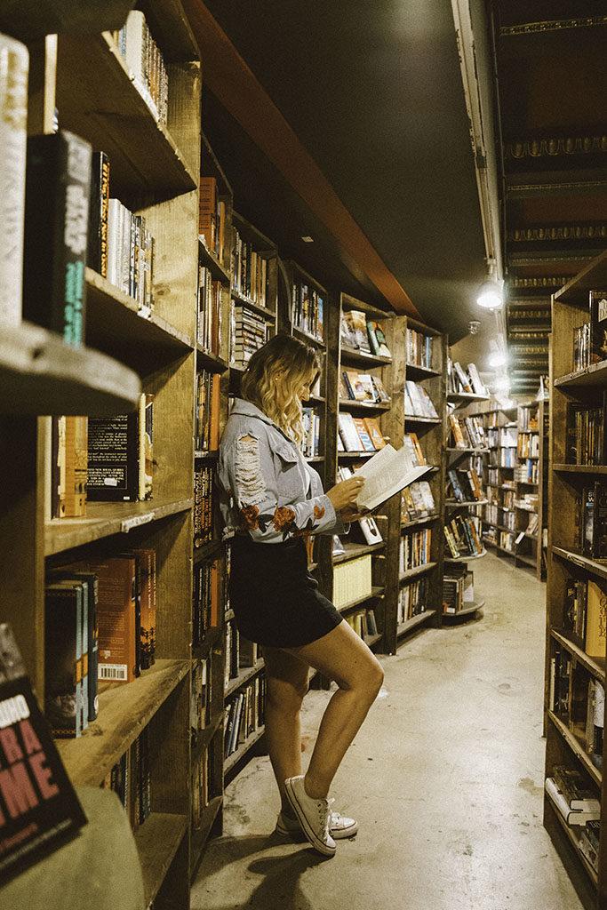 The Last Bookstore Downtown LA - Best LA Instagram Locations