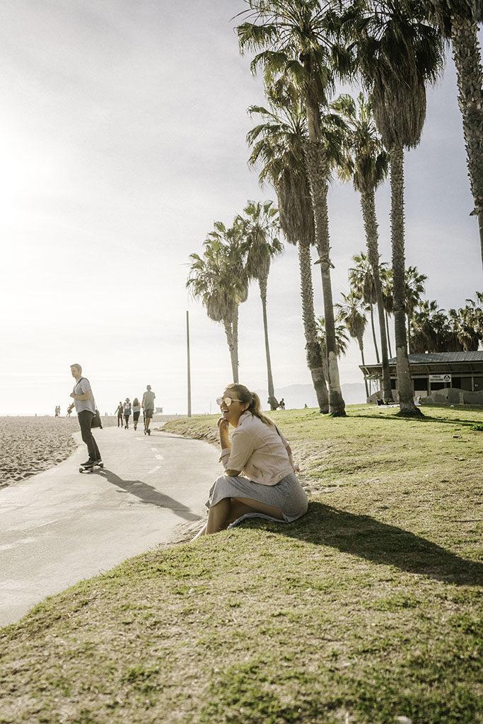 Venice Beach Rollerblading -LA Best Instagram Locations