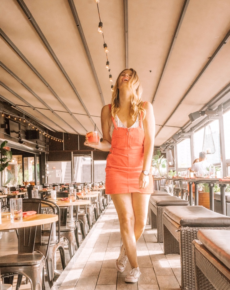 Penthouse 808 -NYC Best Rooftop Bars Instagrammable