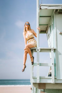 Lifeguard Tower Santa Monica