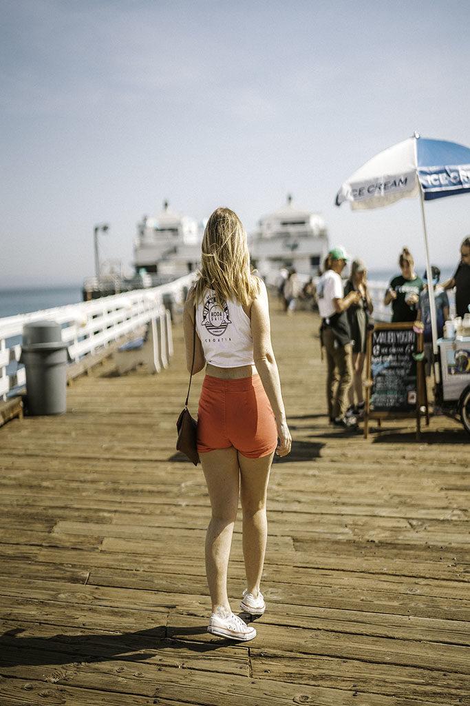 Malibu Pier Malibu Farm ice cream - LA Instagram Locations
