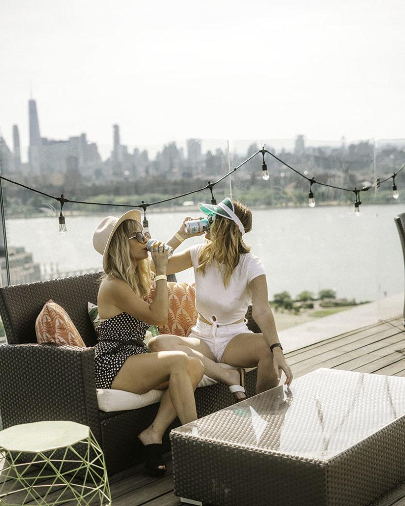 Montauk Beer Turf Club Westlight - Brooklyn's Best Rooftop Bars Instagram