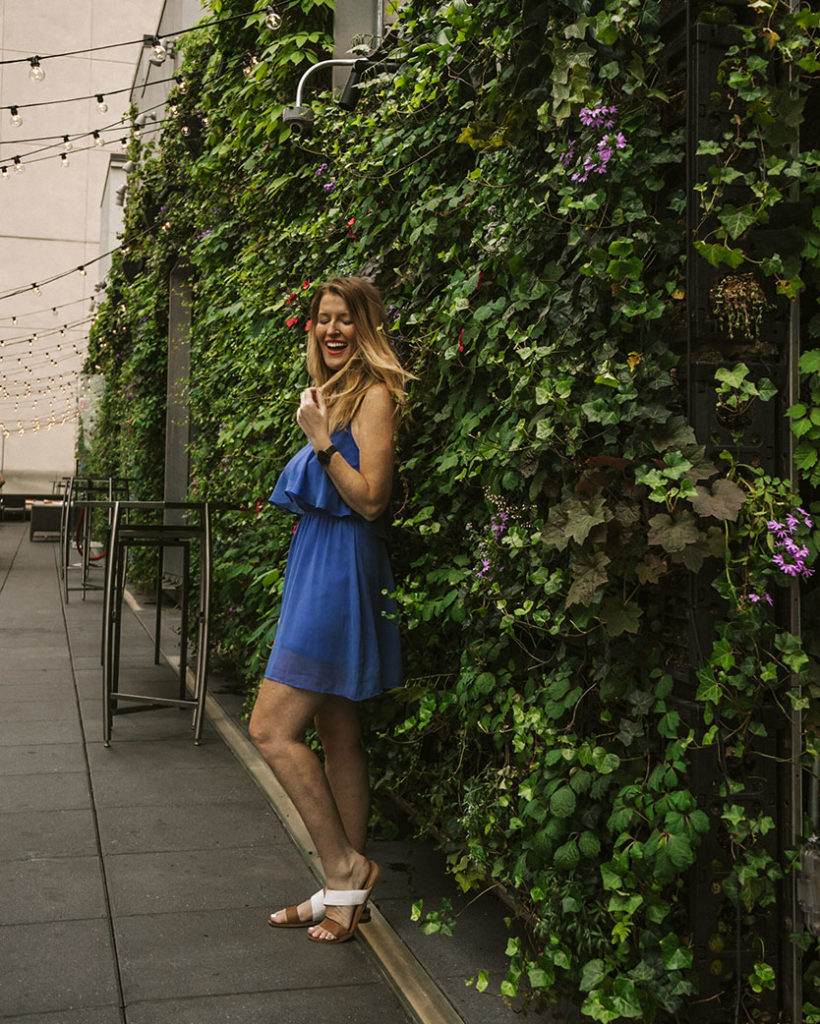 St Cloud greenery - NYCs Best Rooftop Bars Instagrammable