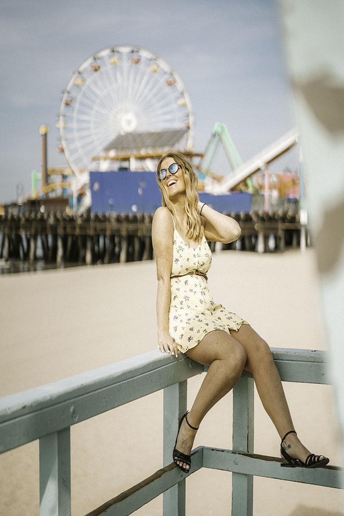 Santa Monica Pier Lifeguard Tower - LA Instagram Location