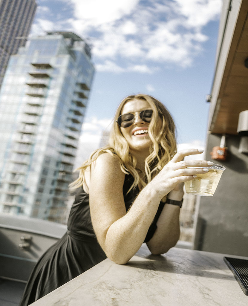 The Heights Rooftop Drinks - NYCs Best Rooftop Bars Instagrammable
