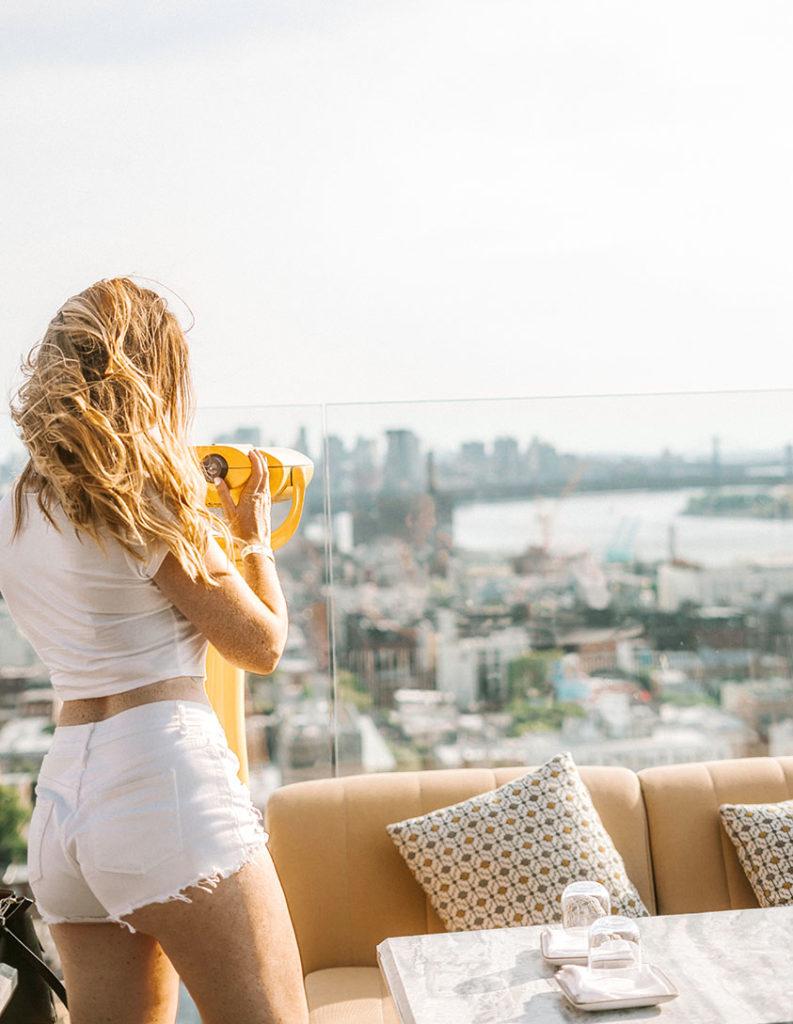 Westlight Views of Brooklyn Bridge - Brooklyn's best rooftop bars