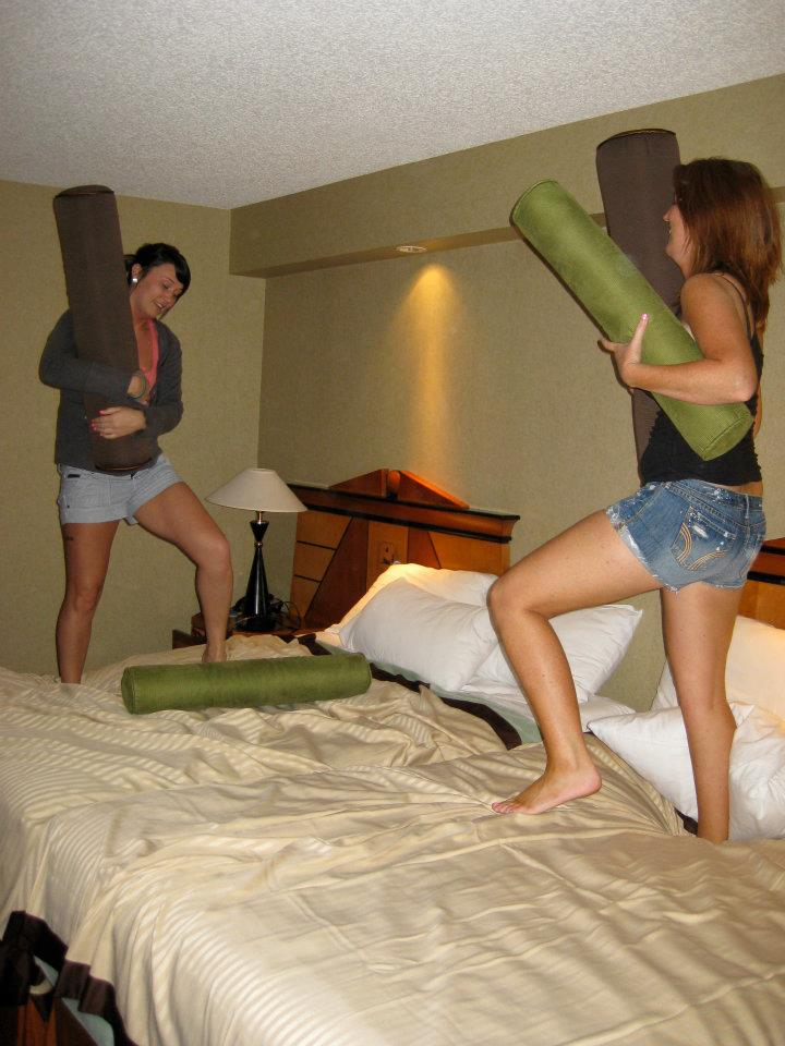 Pillow Fight - Best Way of Getting Over a Break Up