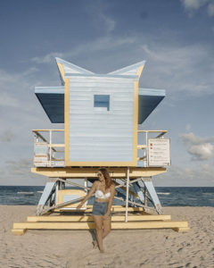 Miami Girls Trip Lifeguard Towers