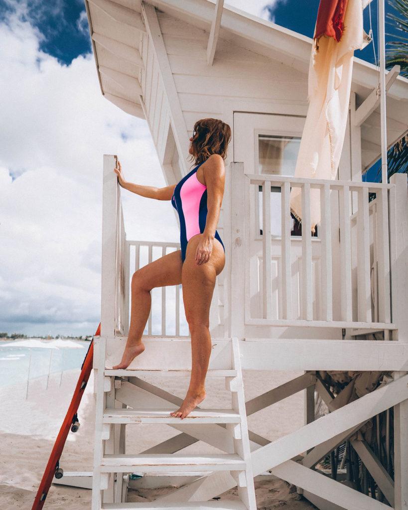 Baywatch swimsuit style