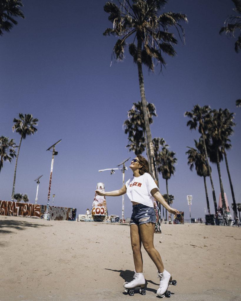 Venice Beach Roller Skating