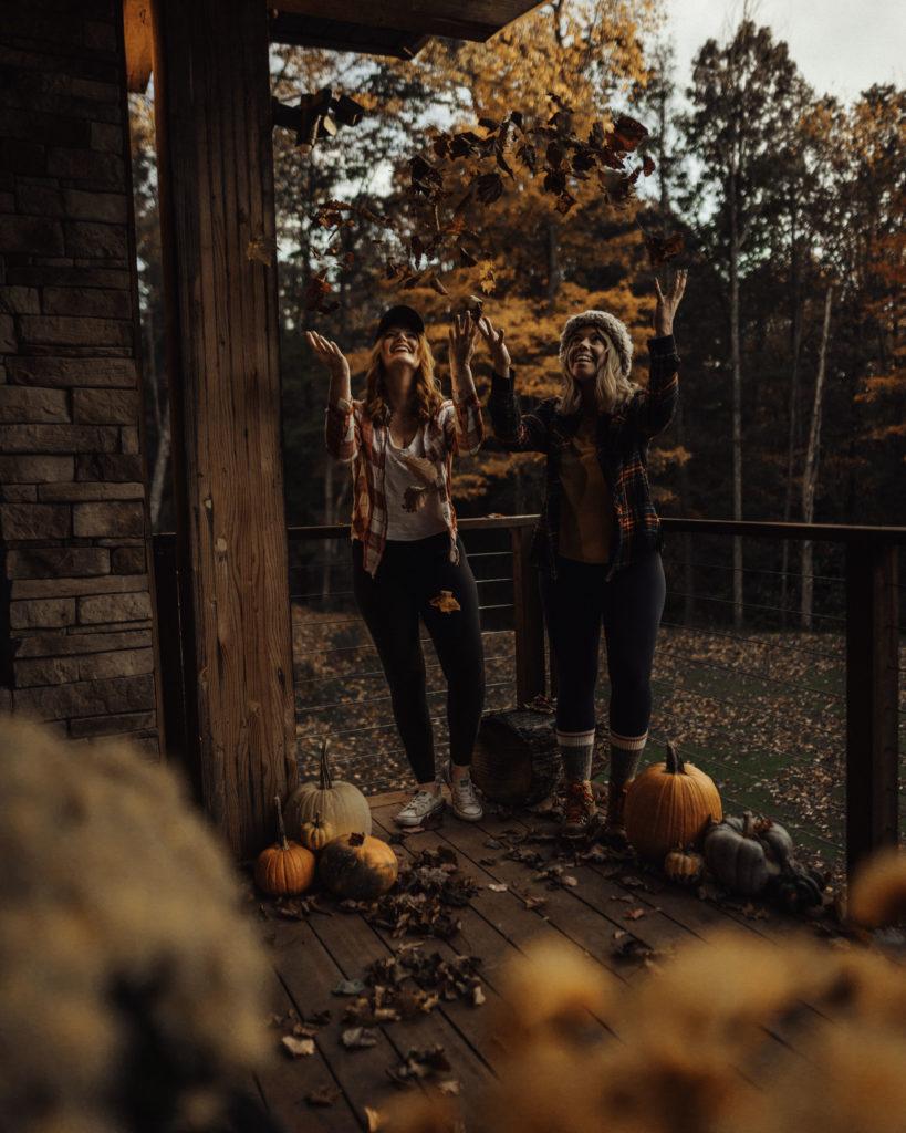 Fall Leaves West Virginia
