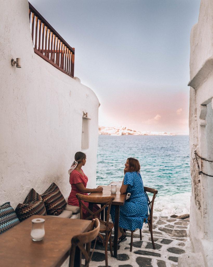 Kastro's Restaurant Mykonos